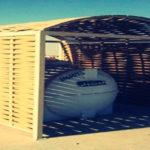 مظلات خزانات الماء